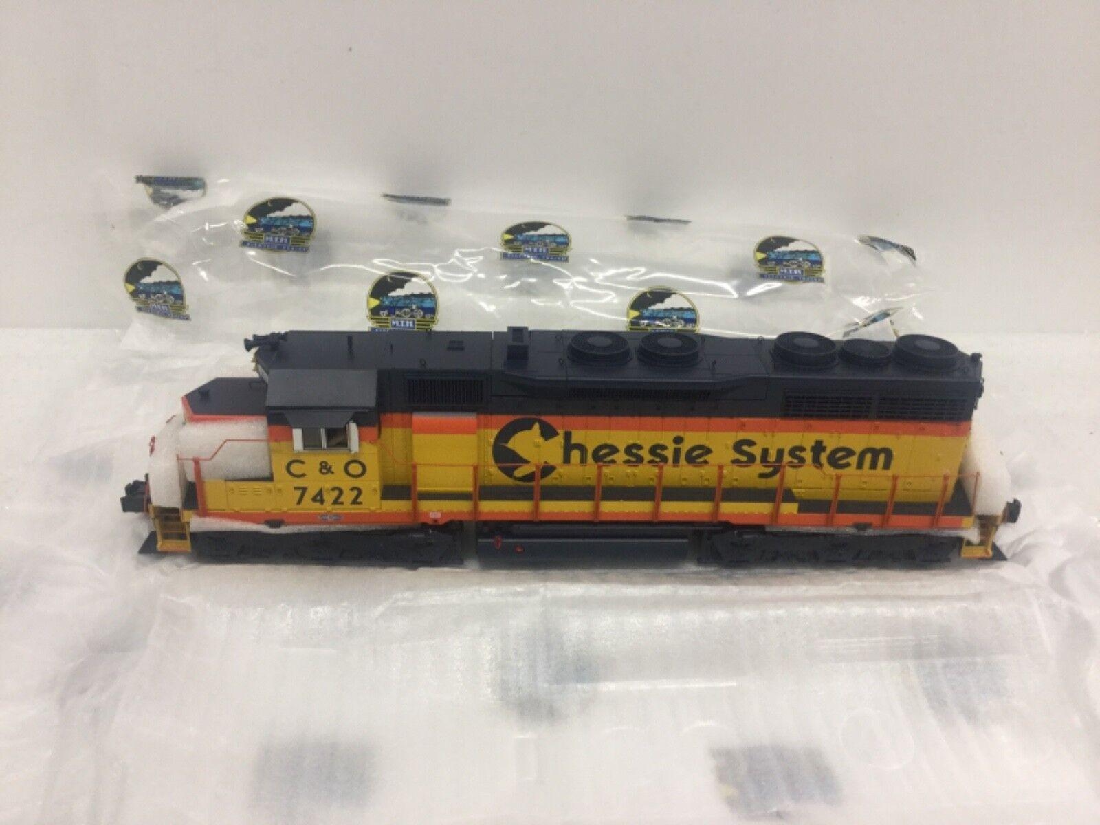 MTH O Scale Chessie SD-35 Diesel Engine Predo3  3 Rail  NEW