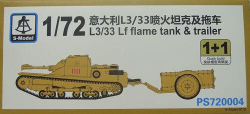Doppelpack NEU, Tankette L3//33 Lf 1//72 S-Model Plastik