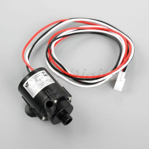 1x 6-12V DC Pump Brushless Amphibious Water Fountain Pump Speed Measurement Wire