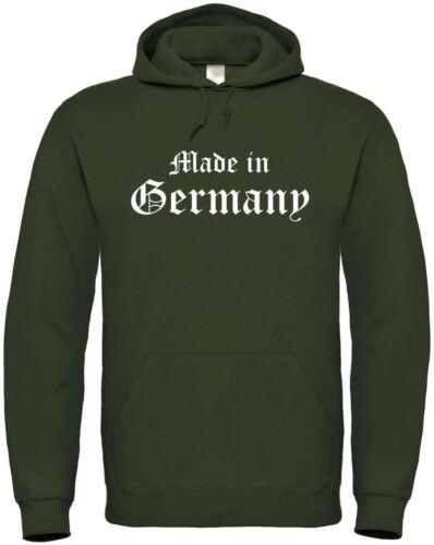 """Hoodie /""""Made in Germany/"""" S bis 5XL ; Deutschland Soldat Biker Armee bundeswehr"""