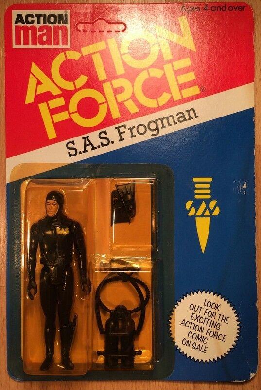 Azioni FORCE G I Joe SAS FROGuomo cifra cifra cifra VINTAGE Paligiocattolo 1982 MOC 1d6d04
