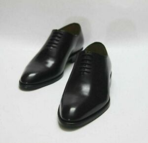 Dress-Shoes-Men-Wholecut-Oxford-Black-Formal-Office-Party-Handmade-Calf-Leather