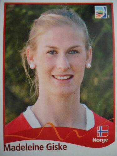 Panini 304 Madeleine Giske Norwegen FIFA Women/'s WM 2011 Germany