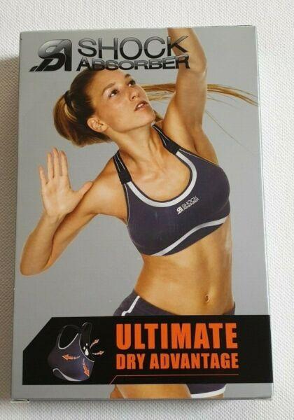 Shock Absorber Sport Top BH Ultimate Dry Advantage für Profi Sportler N4663 NEU