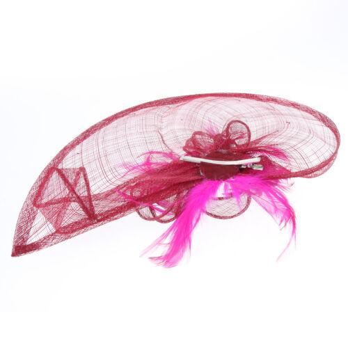1920er Jahre 20er Jahre Derby Fascinator Hut Blume Cocktail Tea Party Hüte
