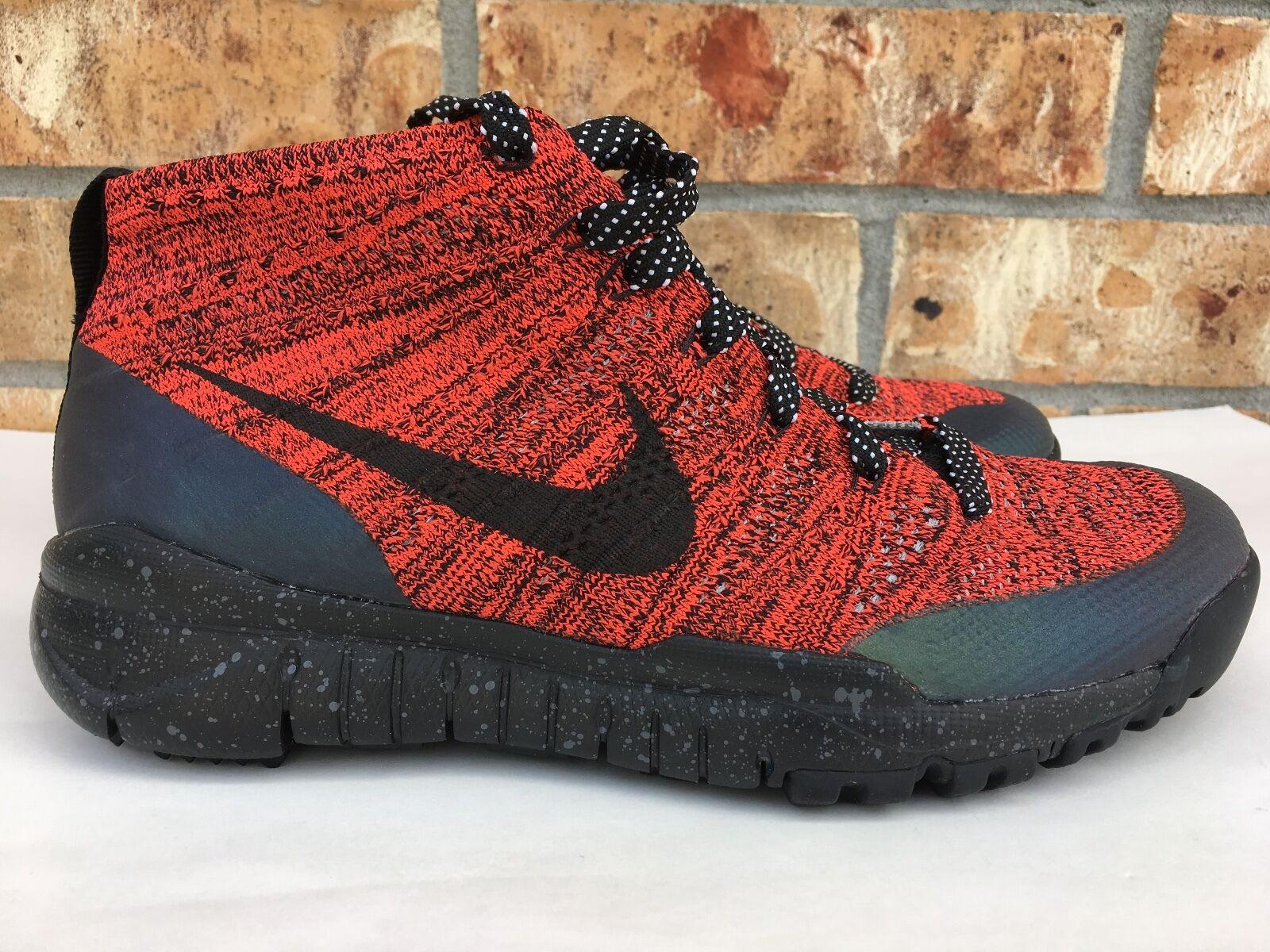 0bd93e44d1 Women's Nike Flyknit Trainer Chukka FSB FSB FSB Hologram Reflective Size 8  805093-603 7530dc