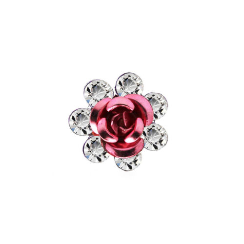 1 piece Hair Decoration Rose Long Pin for Bun Finish Wedding Bridal Accessories