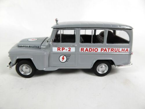 1:43 Willys Rural Police Brazil Polícia Ist Diecast Model Car PM40