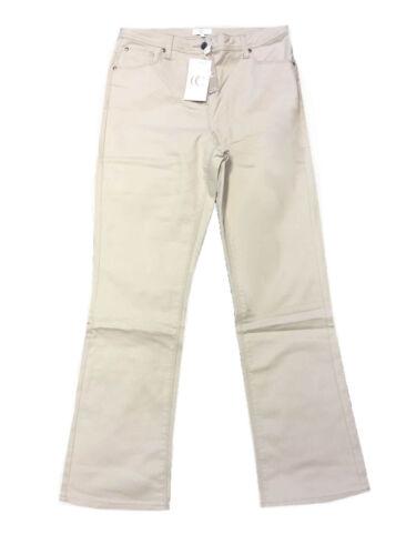 P4 Country Casuals Cc Donna Cotone Stone Pantaloni Taglia 12 14 16 18