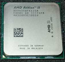 AMD Athlon II  X 4  2.9 GHz  Quad Core 635 Processor, ADX635WFK42GM, AM2+ / AM3