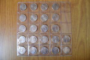 LOTTO-22-MONETE-STATI-UNITI-UNITED-STATES-QUARTER-DOLLAR-DOLLARO-SUBALPINA