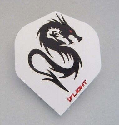 "Ruthless Invincible Extra Strong Dart Flights ""Black Dragon"""