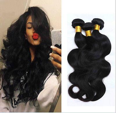 7A Body Wave Quality 1 Bundle Brazilian Virgin Human Hair Extensions Weft 100g