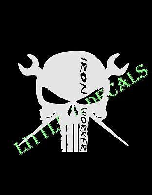 Punisher STICKER VINYL STICKERS DECAL 2nd  AMENDMENT CASTLE SKULL
