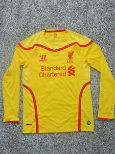 premium selection ad638 cd652 Details about Liverpool FC jersey (Men's S) -Long Sleeve Yellow