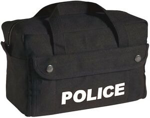 Image Is Loading Police Tactical Equipment Gear Accessories Canvas Duffle First