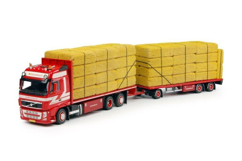 NEW Tekno 64048 Volvo FH03 Globetrödter Combi Truck w Hay Bales - KOOTER 1 50 MB
