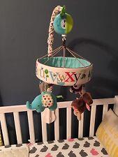 Skip Hop Crib Mobile Alphabet Zoo