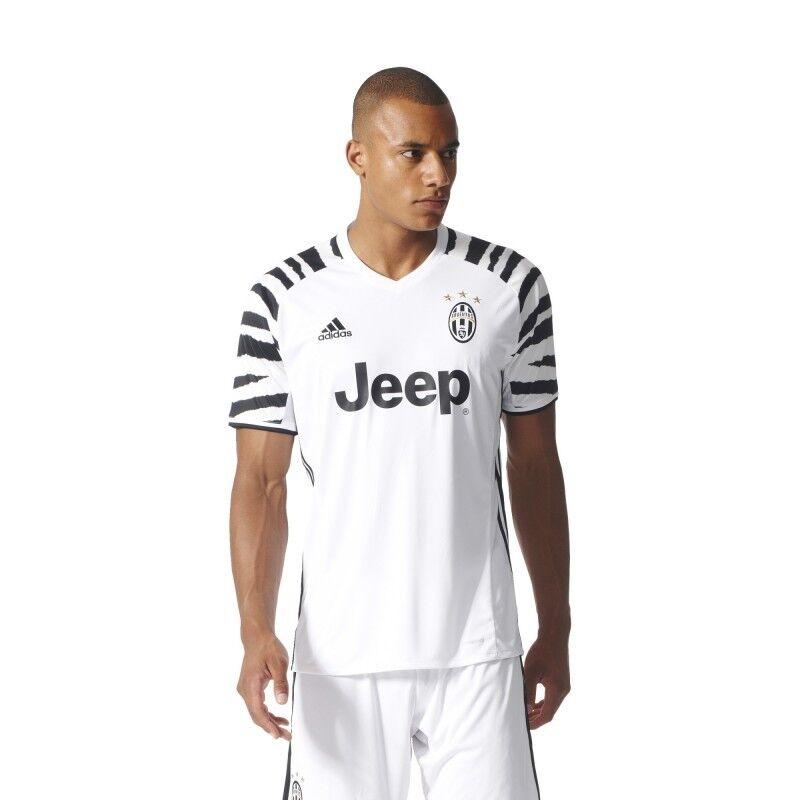 Juventus terza maglia 2016 2017 Adidas Juve 3rd Third Shirt Trikot Bianco Nera A