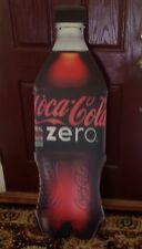 Coca Cola Zero Giant  Bottle , Corrugated plastic ,
