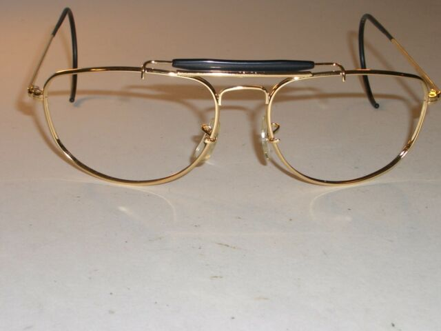 b9cc49159a B L RAY BAN W1077 1992 GOLD OLYMPIC GAMES WRAP AVIATOR SUNGLASSES FRAMES  ONLY