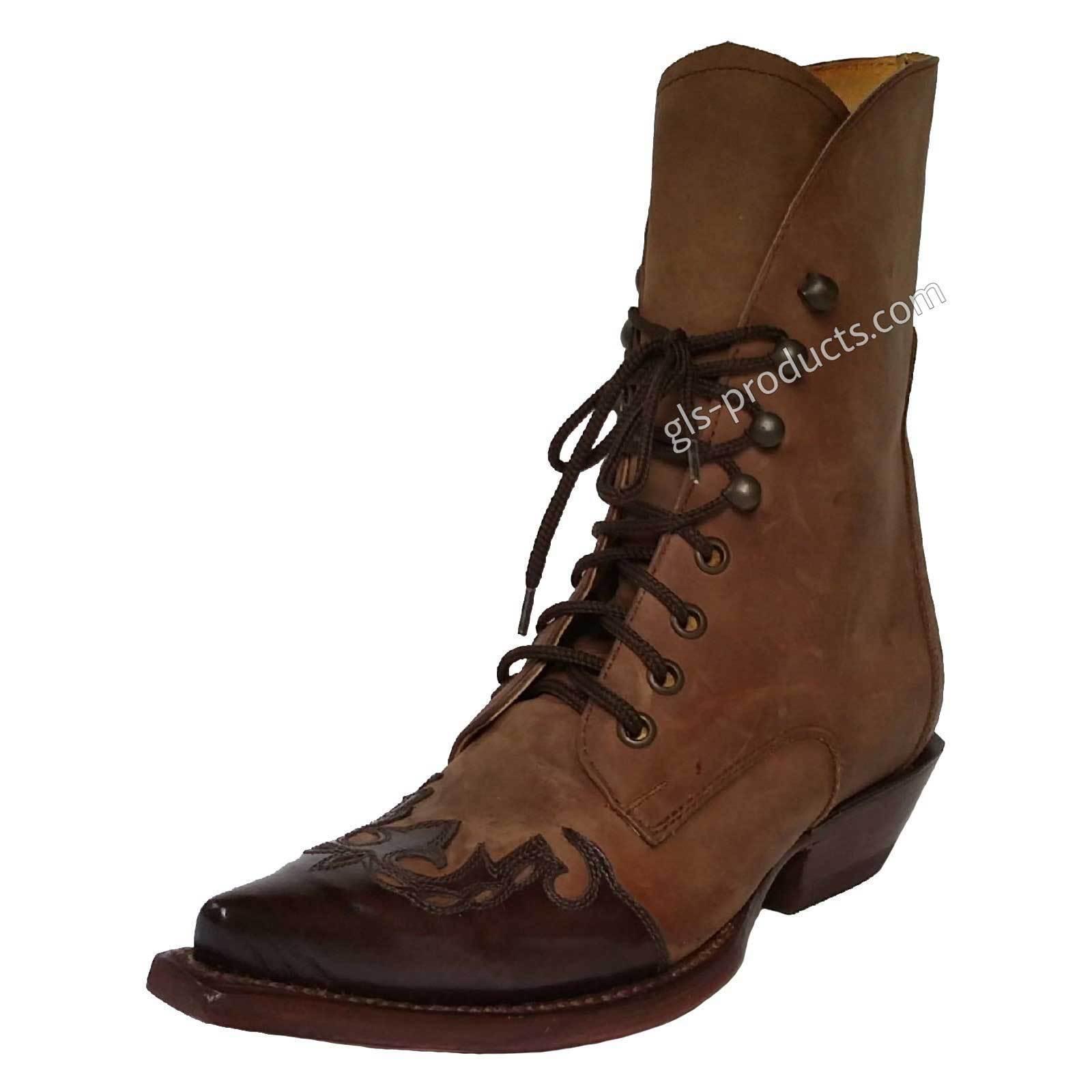 economico e di alta qualità Quincy LADY Stivali Western Cowboy Stivaletti LINEDANCE schnürstivali Marrone Tg. Tg. Tg. 36  Spedizione gratuita per tutti gli ordini