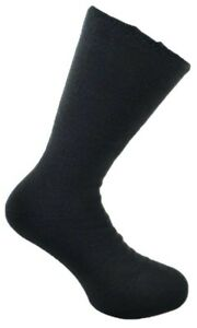 1-Pair-Mens-Charcoal-Comfort-Insulated-Acrylic-Thermal-Bed-Socks-UK-Size-6-11
