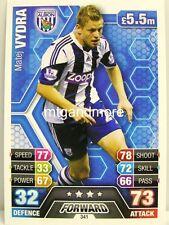 Match Attax 2013/14 Premier League - #341 Matej Vydra - West Bromwich