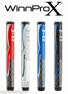 Winn-Pro-X-1-32-034-Putter-Grip-Paddle-Blue-Black-Gray-Red-Colors-All-Available
