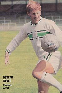 Football-Photo-gt-DUNCAN-NEALE-Plymouth-Argyle-1960s
