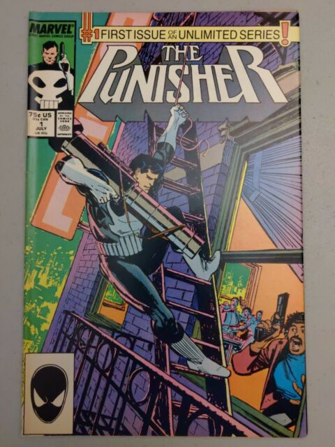 The Punisher #1 of an Unlimited Series (Jul 1987, Marvel) Higher Grade!!!