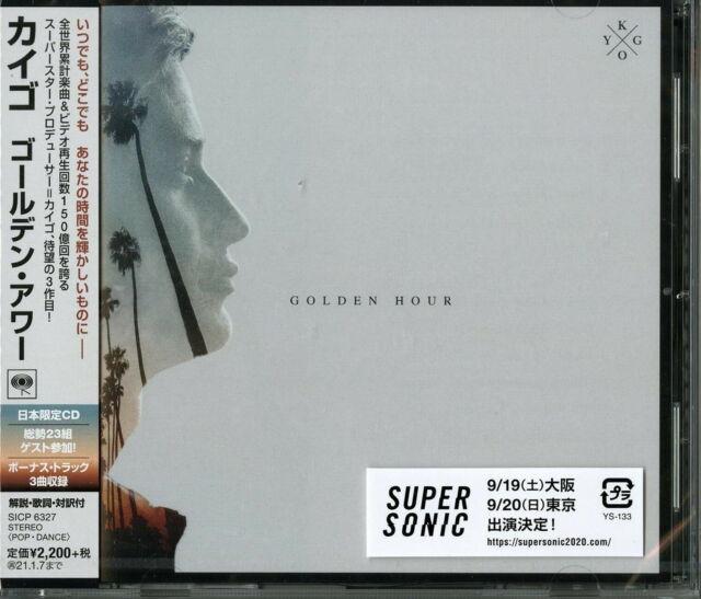 KYGO-GOLDEN HOUR-JAPAN CD E78