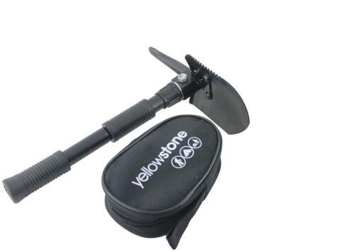 Folding Spade Shovel Pick Axe Camping Metal Detecting Mini Tool