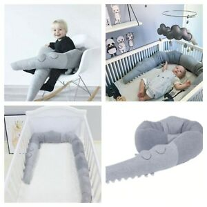 185cm-Newborn-Baby-Bed-Bumper-Pillow-Bumpers-Infant-Crib-Fence-cotton-cribs-2019