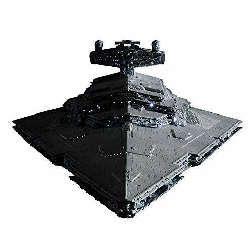 [begränsad Ver.] 2019 stjärna Destroyer 1  500 skala med LED stjärnornas krig Plastic modelllllerler