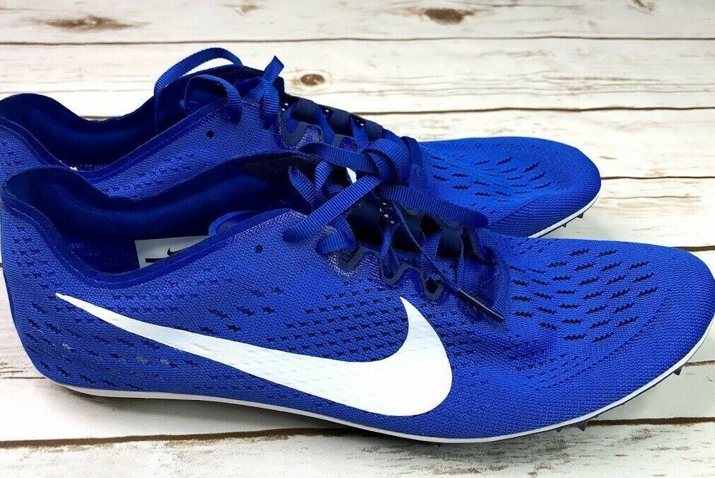 New Nike Zoom Victory 3 Track Field Running Spike shoes bluee 835997-411 Sz.11.5