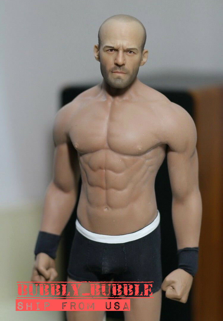 1/6 Jason Statham Expendables PHICEN M33 Seamless Male Muscular Figure Set USA