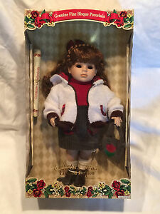 limited edition dan dee collector 39 s choice collectable porcelain doll ebay. Black Bedroom Furniture Sets. Home Design Ideas