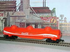 TYCO *Coca-Cola *** COKE *** 3 Dome 62' **SUPER TANK** Car HO Scale Train *mint*