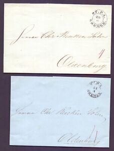 2-Vorphilabriefe-Bremen-1843-45-mit-Stempel-Stadtpostamt-nach-Oldenburg-683
