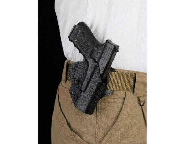 DeSantis 042KAB6Z0 042 The Facilitator Belt Holster RH For Glock 19 23 Kydex