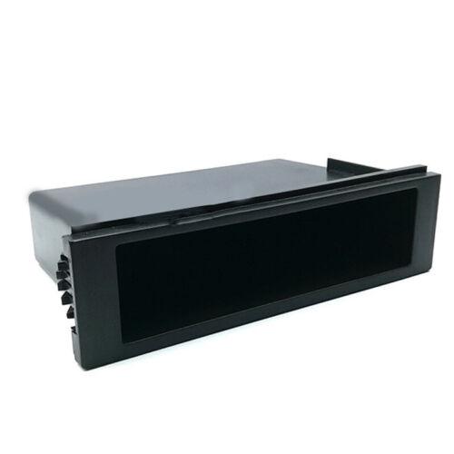 Car Dash Mount Storage Box Plastic Organizer Container For 1-DIN Radio Shafts