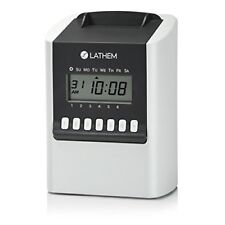 Lathem 700e Calculating Electronic Time Clock
