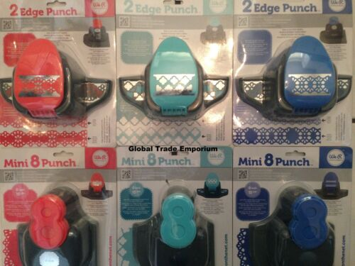 You Choose NEW WE R MEMORY KEEPERS /'2 EDGE/' /& /'MINI 8/' CRAFT PUNCH GIVEAWAY