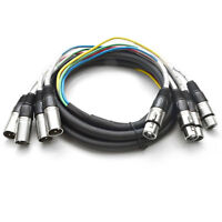 Seismic Audio 4 Channel Xlr Snake Cable -10 Feet -pro Audio Patch on sale