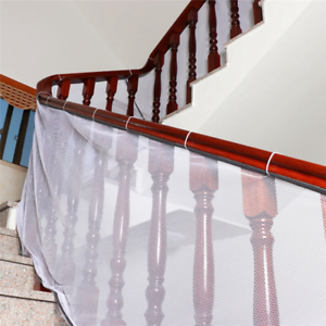 Amknn Safety Banister Stair Mesh Net Fall Protection Safety Net Durable Railing