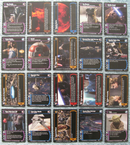 Star Wars TCG Revenge of the Sith Rare Cards Part 2//2 RotS
