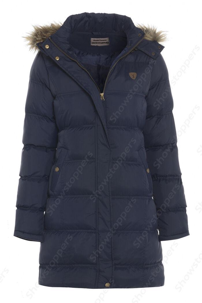 NUOVO imbottito women Cappotto con cappuccio inverno giacca giacca giacca taglia 6 8 10 12 14 496129