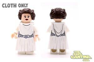 3bfd7de06c905 Details about LEGO Star Wars Custom Cloth Cape Rebel Minifigure Robe  Princess Leia Organa Set