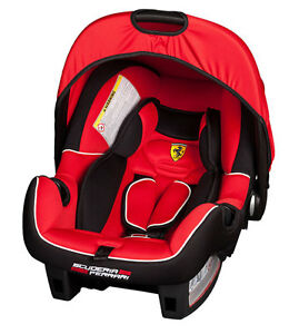 Image Is Loading OFFICIAL FERRARI CORSA Car Seat Baby Infant Carrier